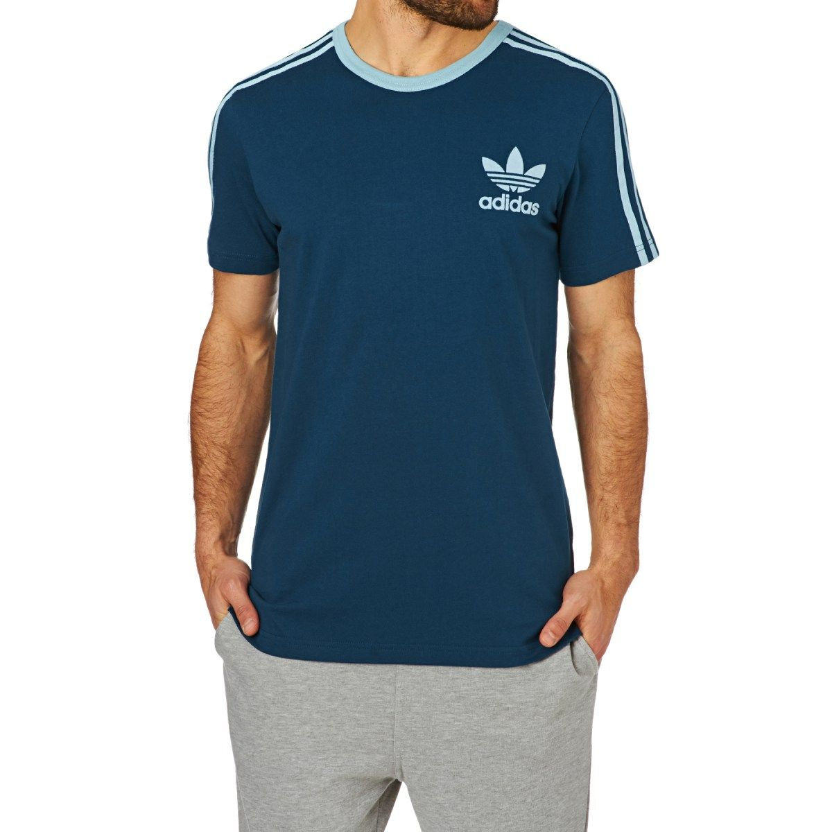 Men's Adidas Originals T shirts Adidas Originals Adicolour