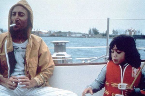 John & Sean Lennon
