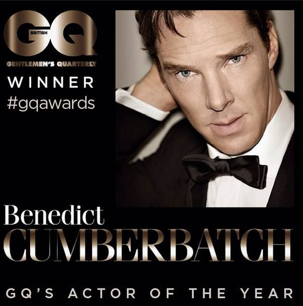 Benedict Cumberbatch: GQ's actor of the year