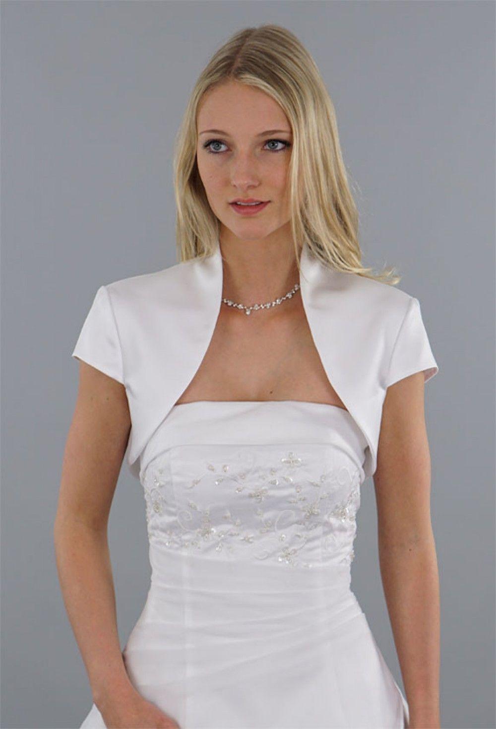 Modell Liz | Schlicht, Brautkleid und Jacken