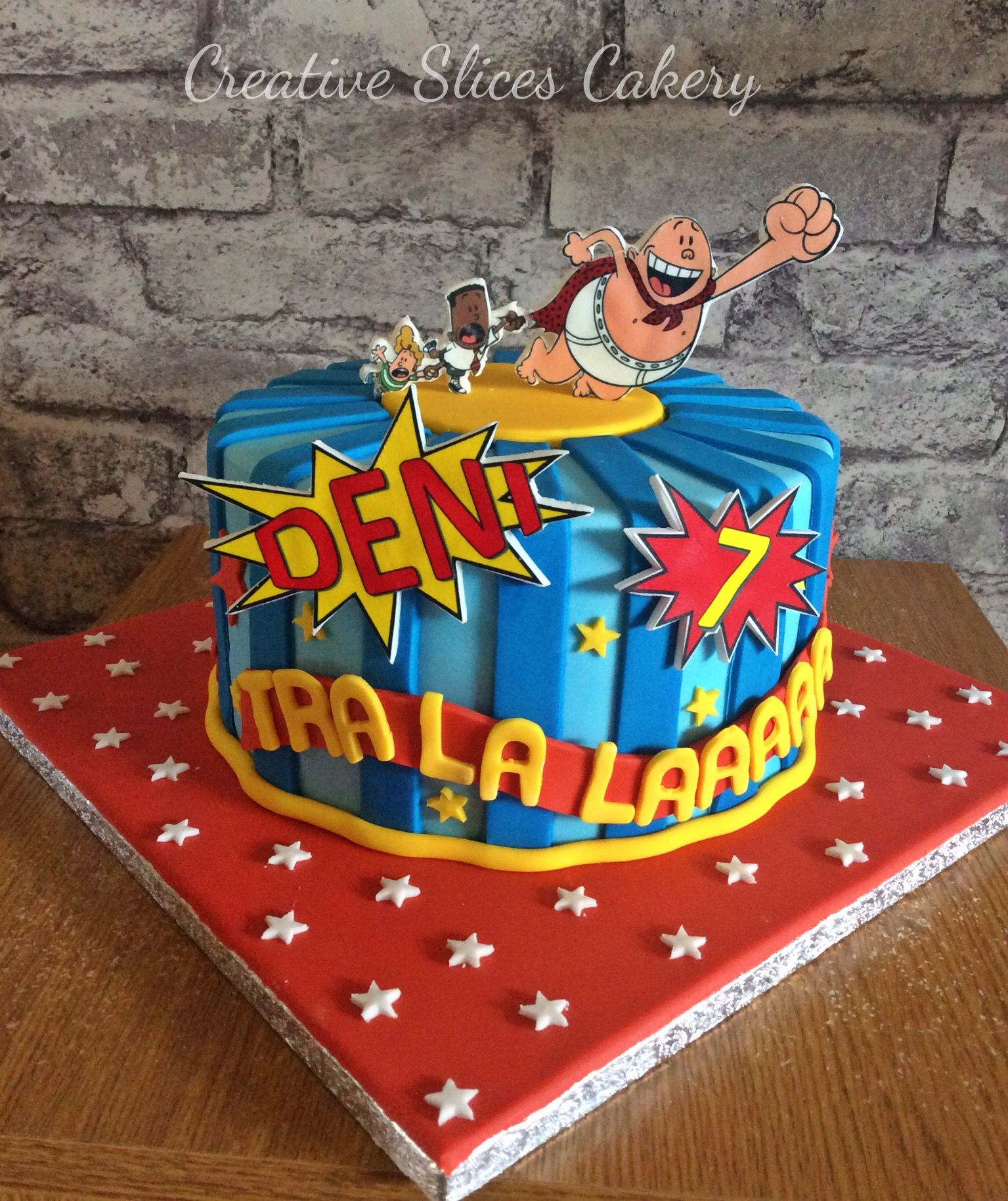 Captain underpants birthday cake x | birhtday cake in 2019 ...