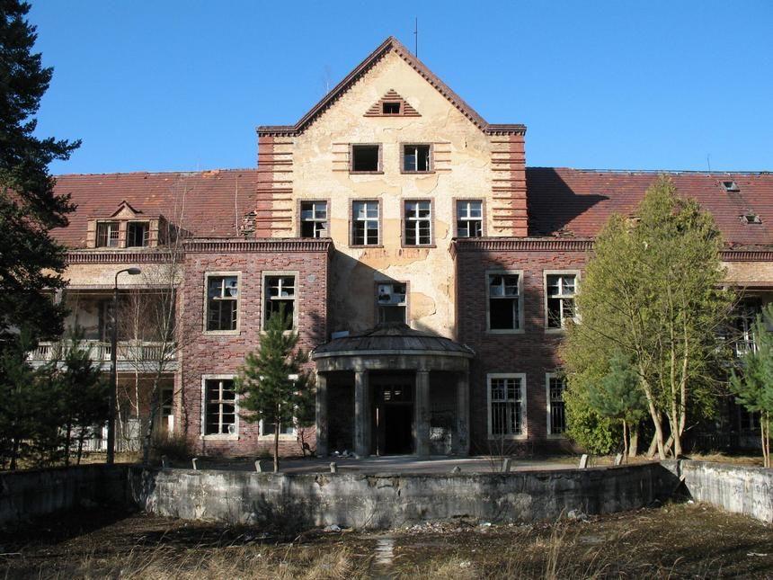 Pavillon Chirurgie in Beelitz-Heilstätten
