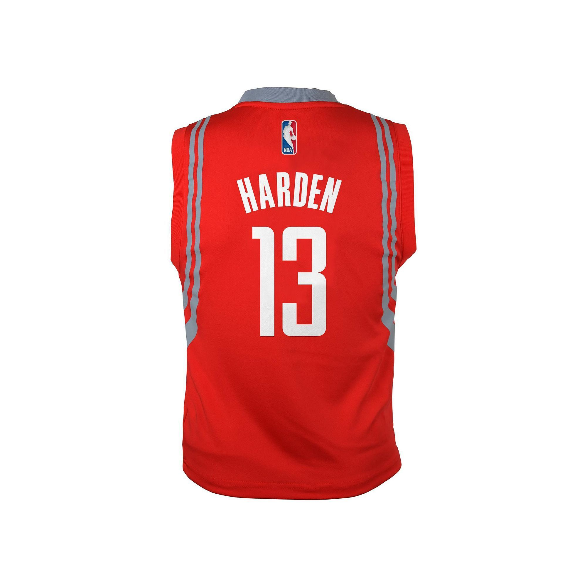 new concept e79c5 9afe0 adidas Houston Rockets James Harden NBA Jersey - Boys 8-20 ...