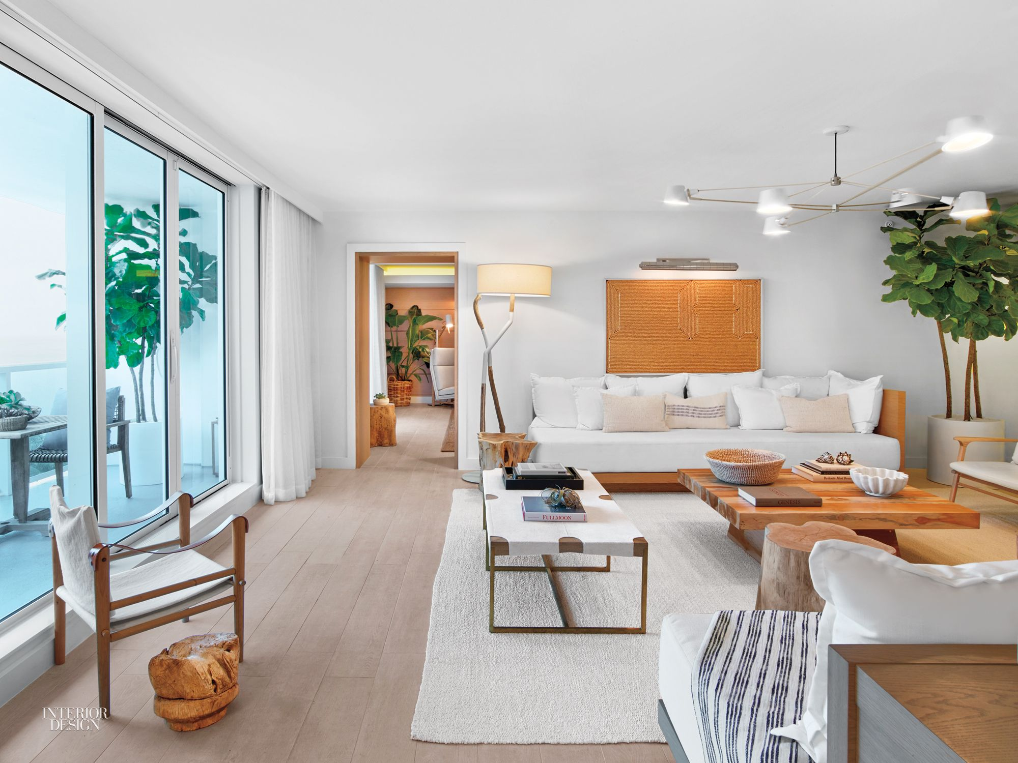 Meyer davis craft serene presidential suite for 1 hotel south beach hotel suites hotel interiors