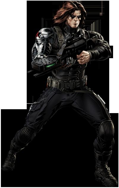 Bucky The Winter Soldier Hero Marvel Avengers Alliance Winter Soldier Avengers Alliance