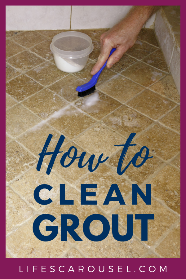 How To Clean Grout The Best Homemade Grout Cleaner Lifes Carousel Grout Cleaner Homemade Grout Cleaner Cleaners Homemade