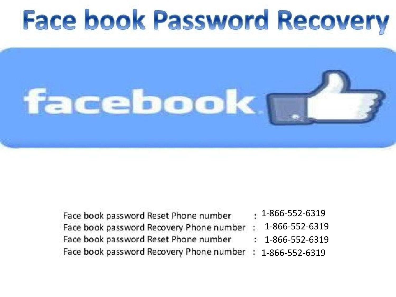 Facebook Password Reset 1 866 552 6319 Facebook Password Passwords Reset Facebook Face