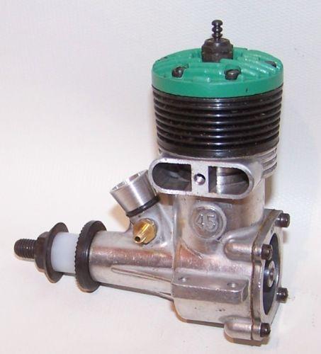 1959 K & B Torpedo  45 green head control line model