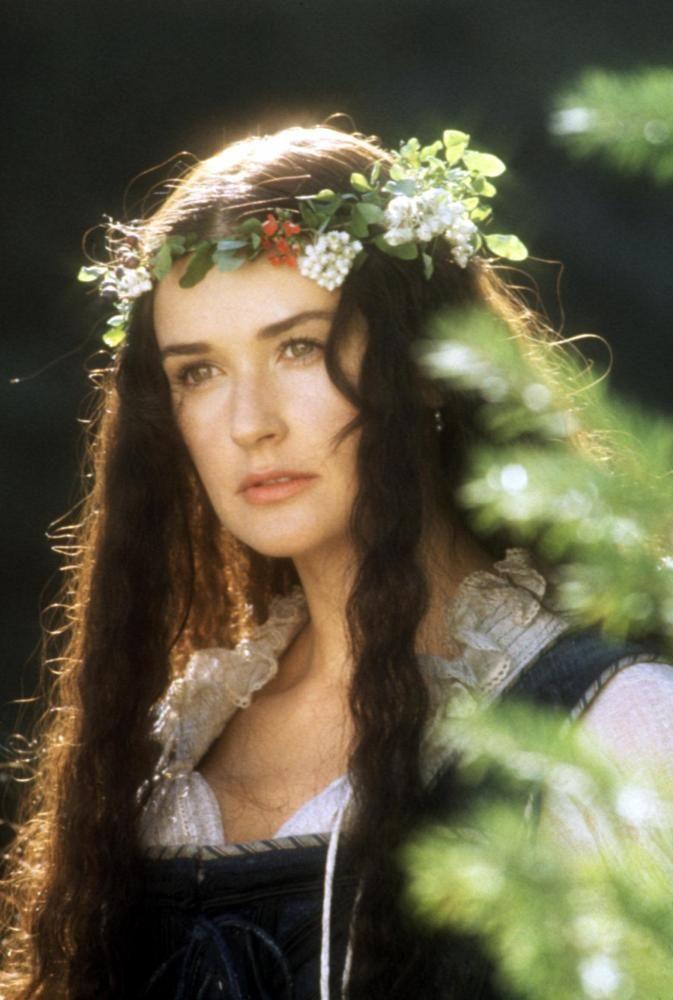 THE SCARLET LETTER Demi Moore 1995 © Buena Vista