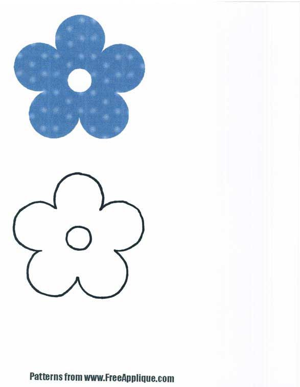 Free Flower Applique Free Flower Patterns To Use For Applique Impressive Applique Patterns Flowers