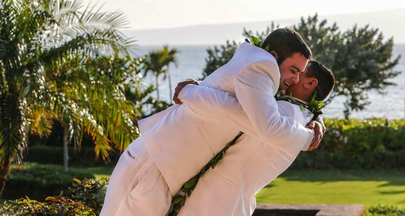 Maui private estate weddings