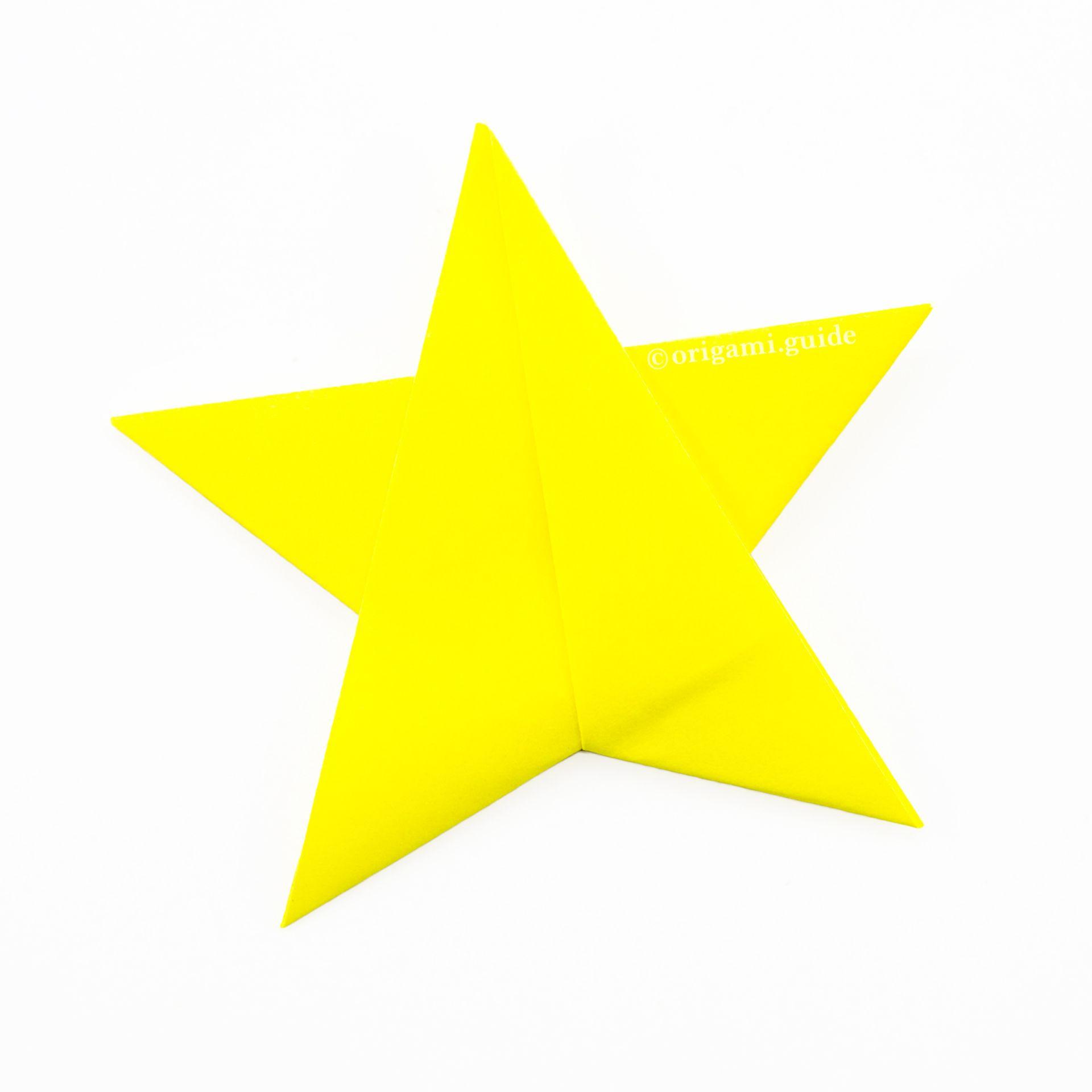 Photo of Wie man einen einfachen Origami Star macht – Faltanleitung – Origami Guide