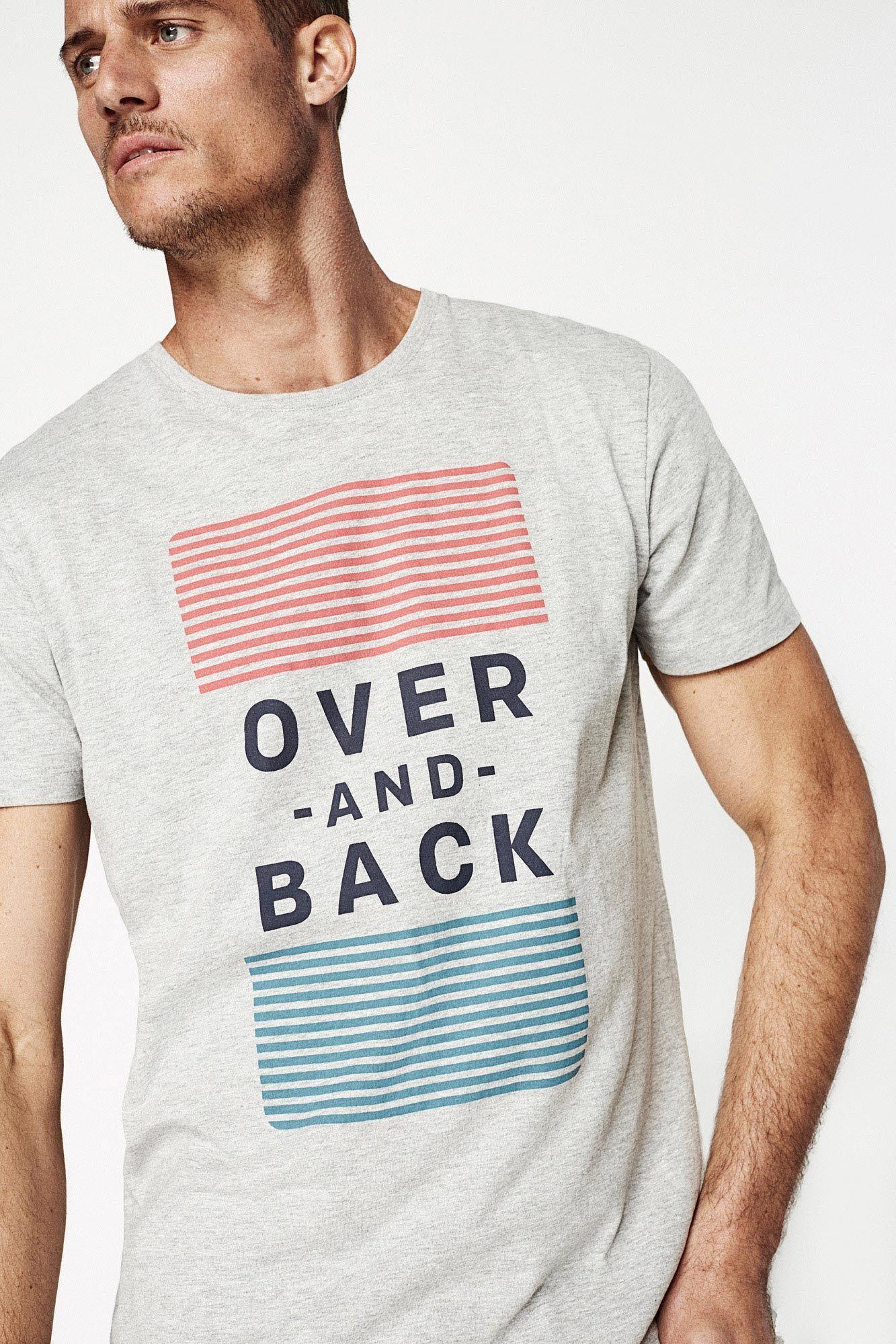 recogido novísimo selección última tecnología CAMISETA OVER & BACK | Camisetas | Springfield | IDEAS PARA ...