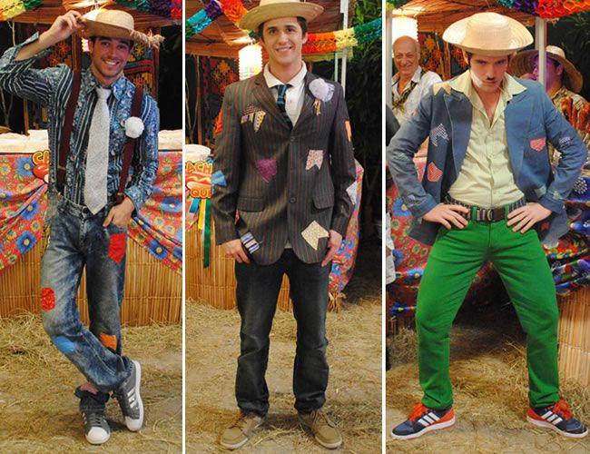 Roupa de festa junina para homens - Trajes típicos ou improvisados -Portal  Tudo Aqui 2c81359da94
