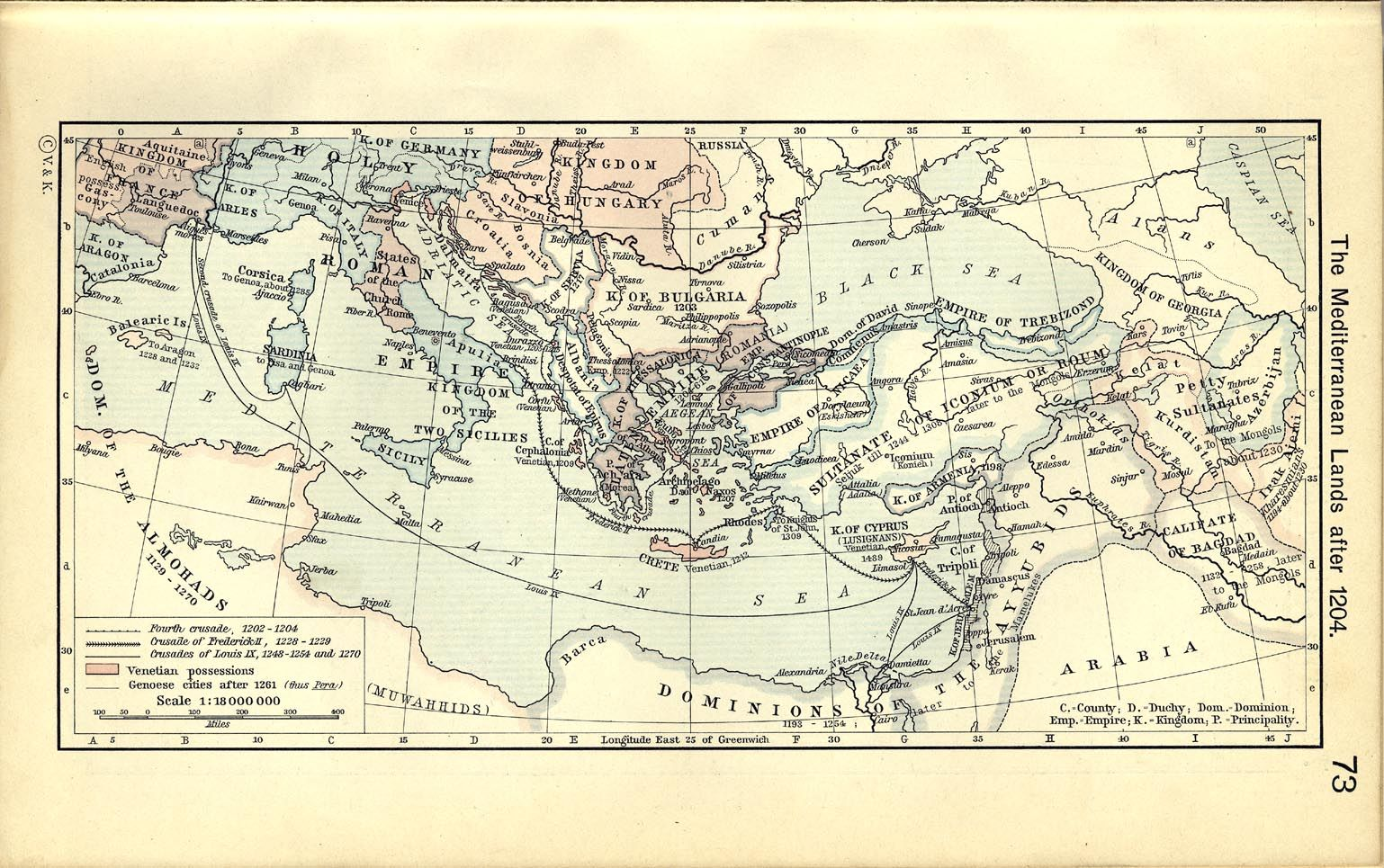 Map Of The Byzantine Empire In