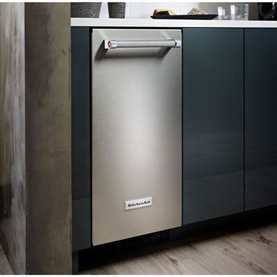 Exceptional KitchenAid® 15u0027u0027 Stainless Steel Automatic Ice Maker   Hhgregg
