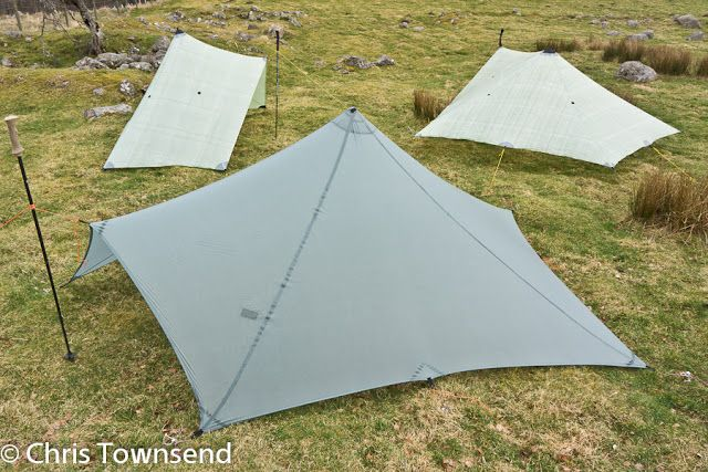 MLD Trailstar in SilNylon in foreground & MLD Trailstar in SilNylon in foreground | MLD Trailstar tarp-tent ...