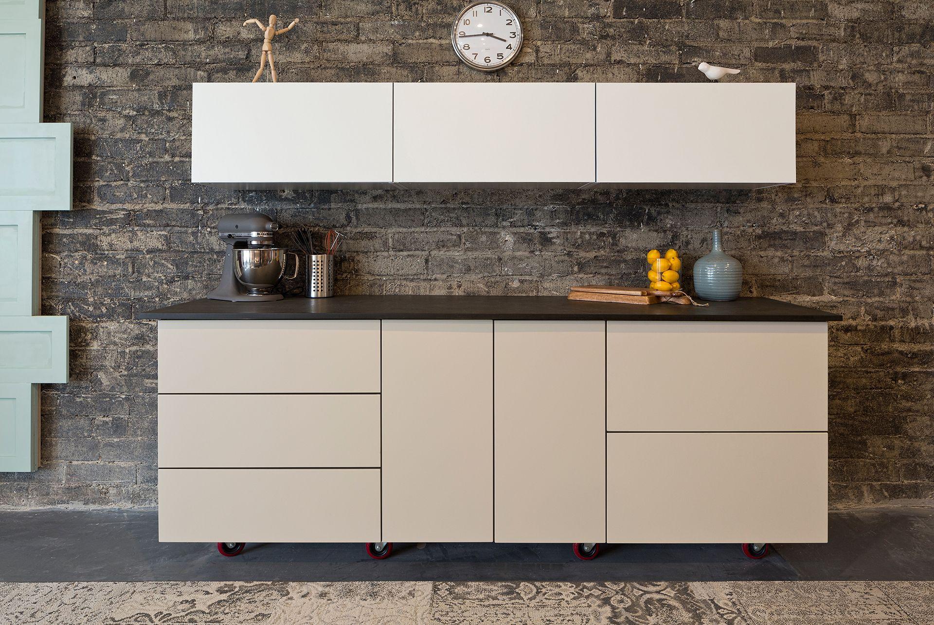 Best Semihandmade Supermatte Clay And White Slab Ikea Kitchen 400 x 300