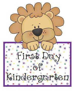 First Day of Kindergarten Ideas
