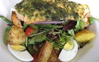 Salmon Nicoise Salad From Nordstrom Cafe Bistro My Favorite