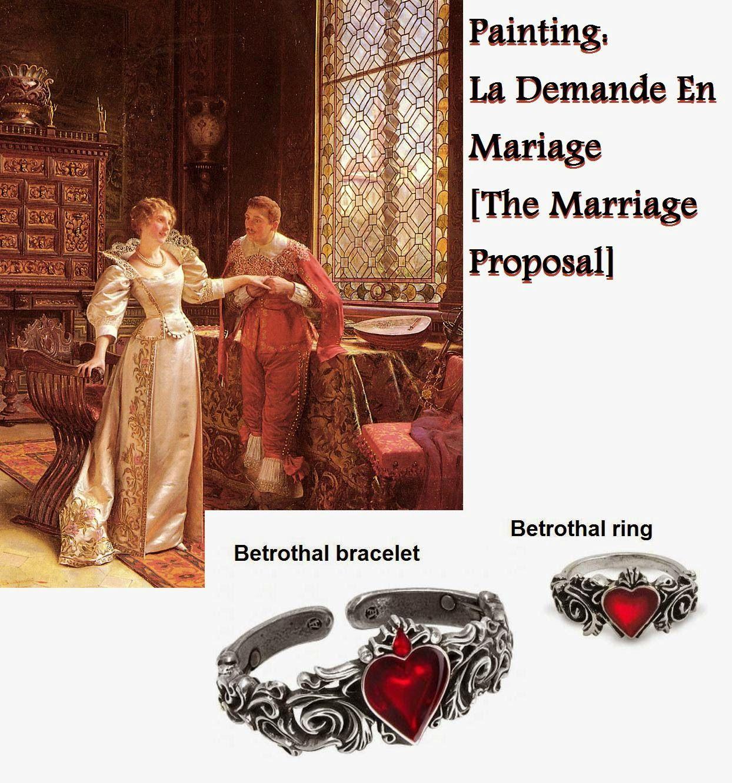 Alchemy Gothic Betrothal Bracelet lbgRxmqy6