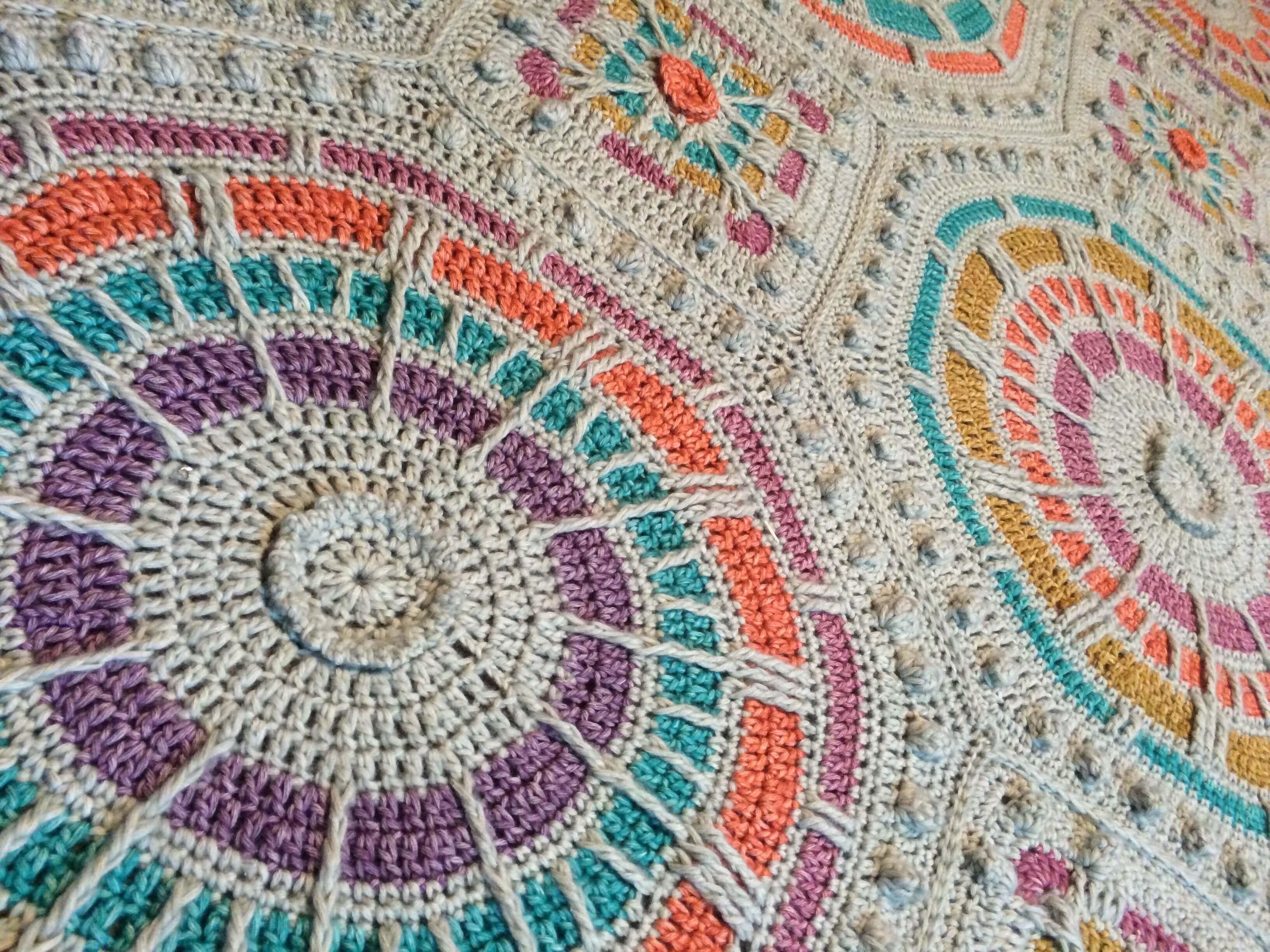 Summer Mosaic Mystery Afghan - Scheepjes Stone Washed XL - Medium ...