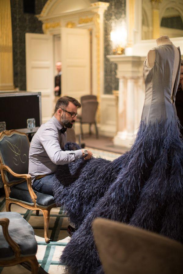 Nicholas Oakwell Couture SS13 - Image courtesy of http://www.helencathcart.com  Amazing!