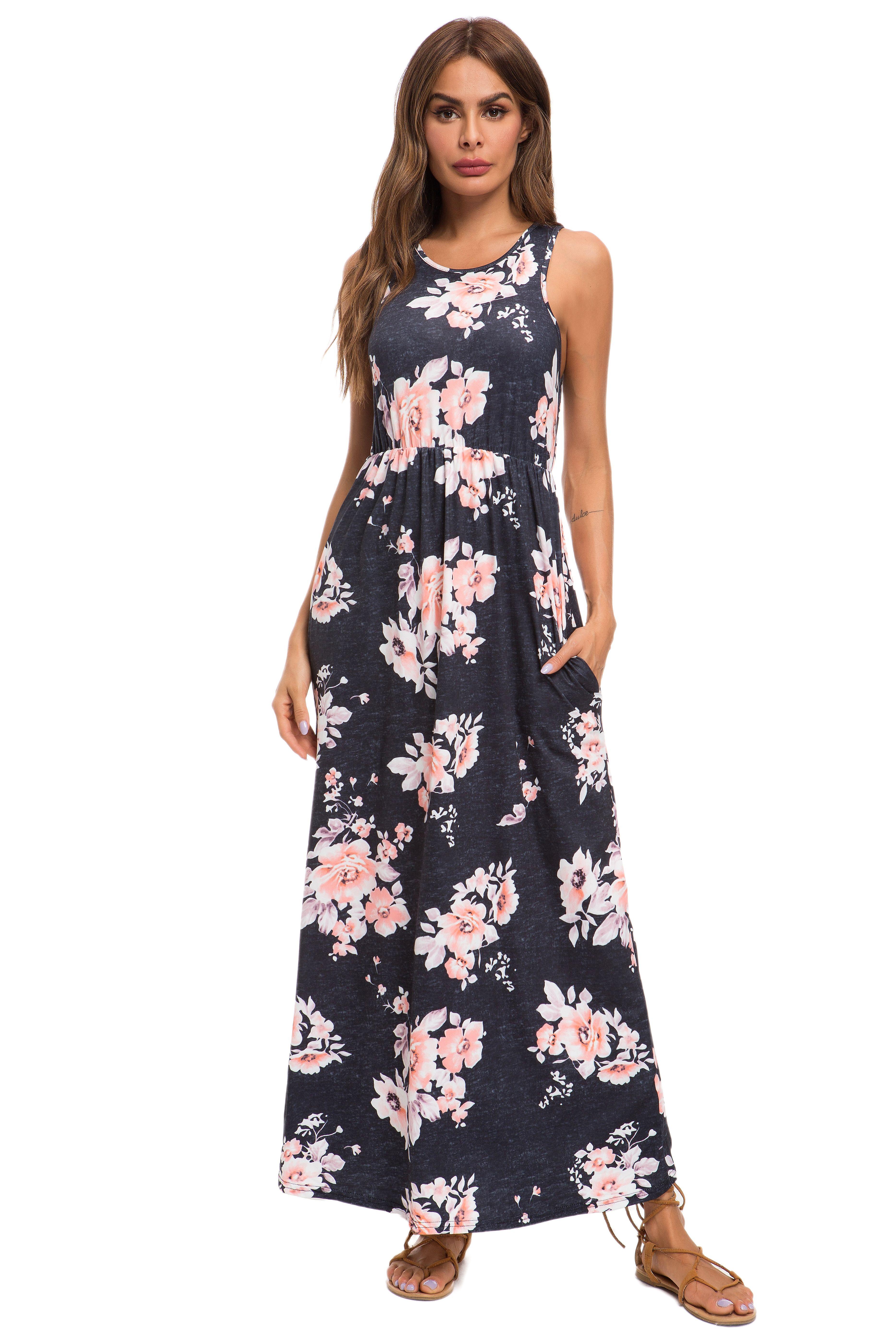 Heather Maxi Floral Dress Maxi Dress Dresses Printed Maxi Dress [ 5600 x 3733 Pixel ]