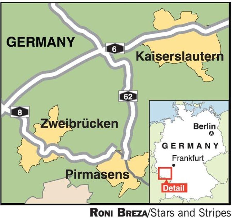 Autobahn A8 Zweibruecken | Zweibruecken-USAF Germany | Pinterest ...
