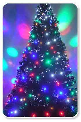 Fiber Optic Christmas Tree | fiber optic Xmas tree | Pinterest ...