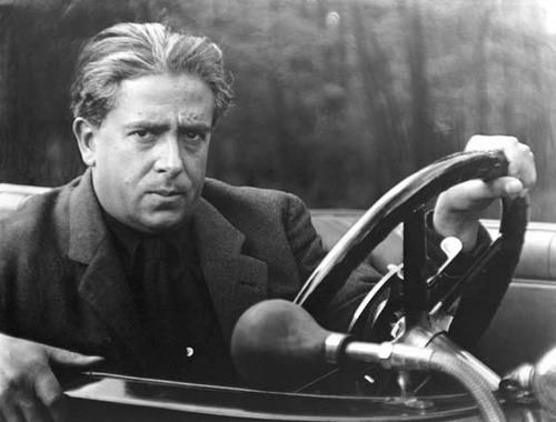 Francis Picabia, 1922, photographed by Man Ray.