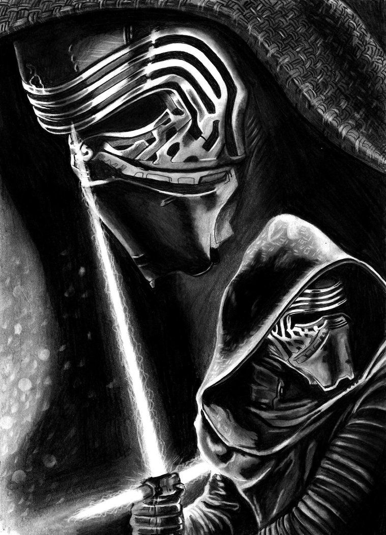 Image result for drawing Kylo ren | Pyrogravure