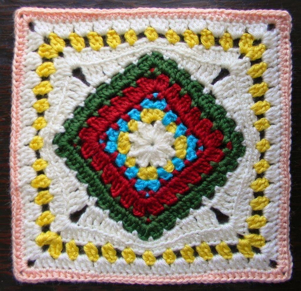 Free Crochet Granny Square Pattern - Diamond in the Rye | Crochet ...