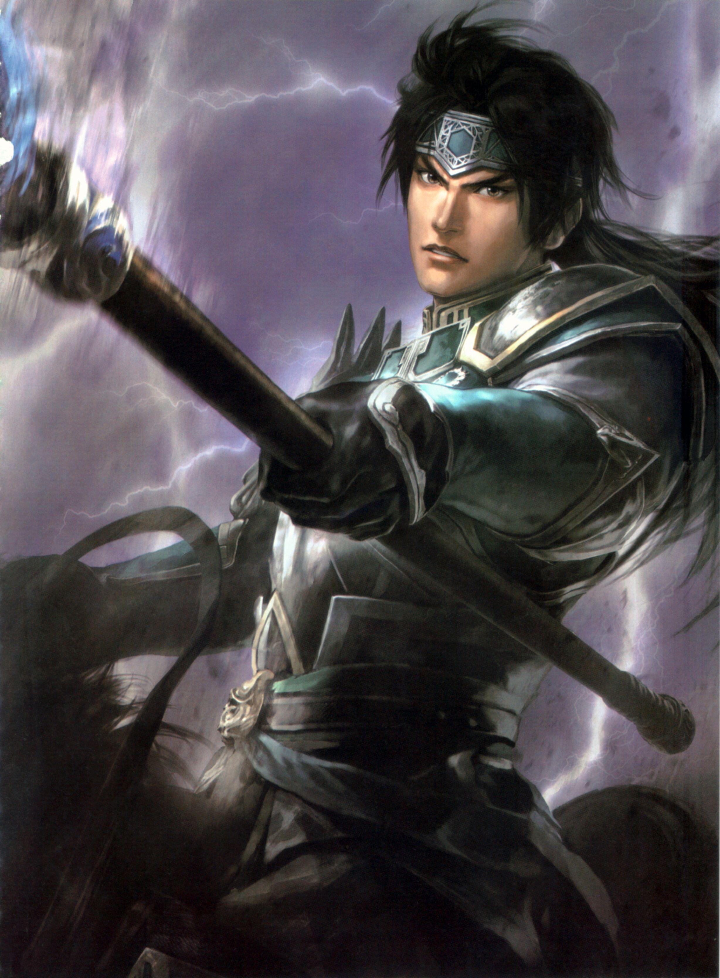 Zhao Yun   Dynasty warriors, Warrior, Samurai warrior