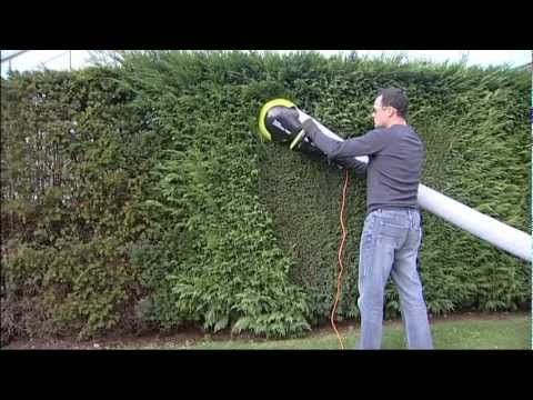 Garden Groom Pro Electric Hedge Trimmer Youtube Khpos