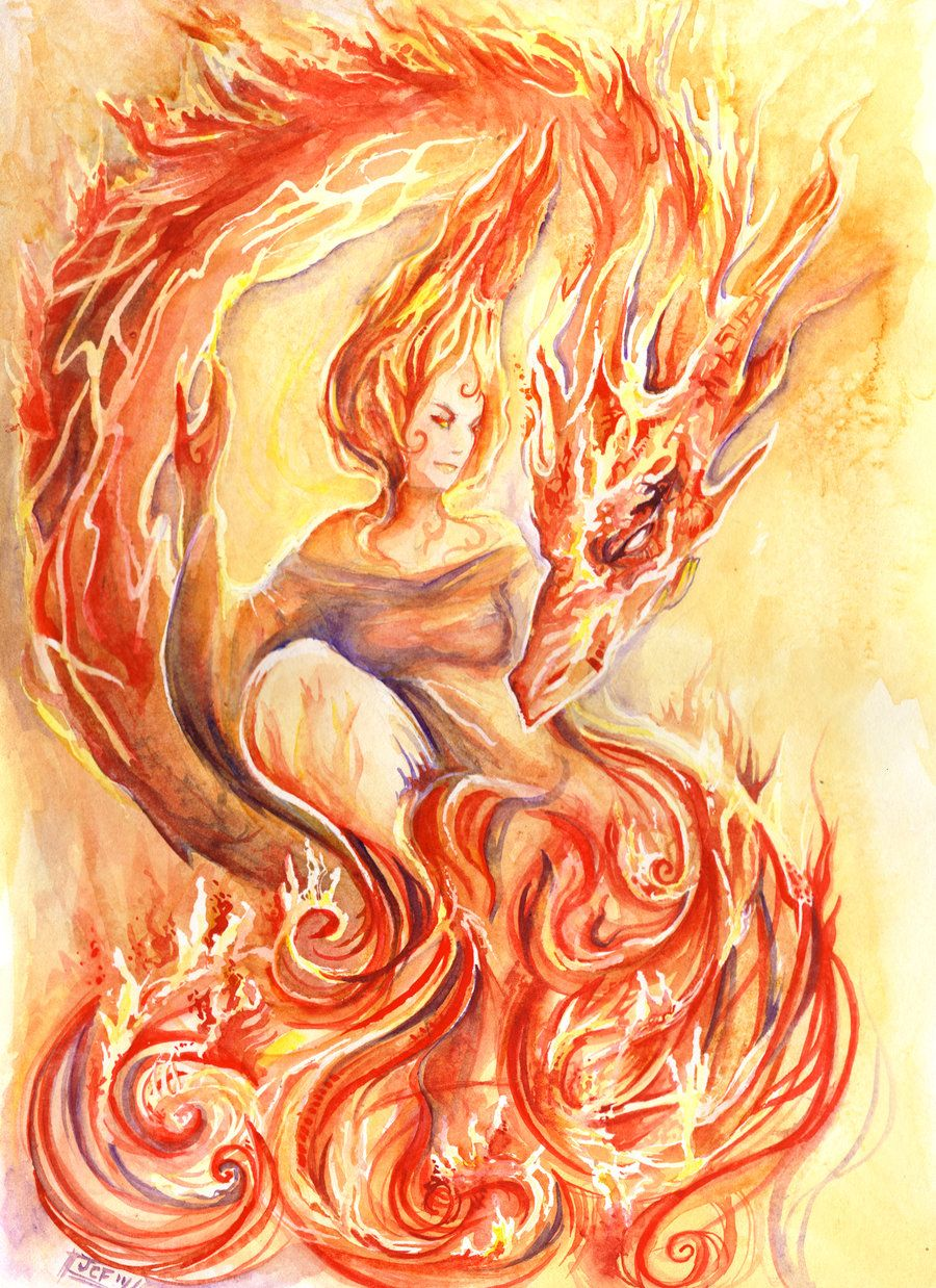 Образы огня картинки