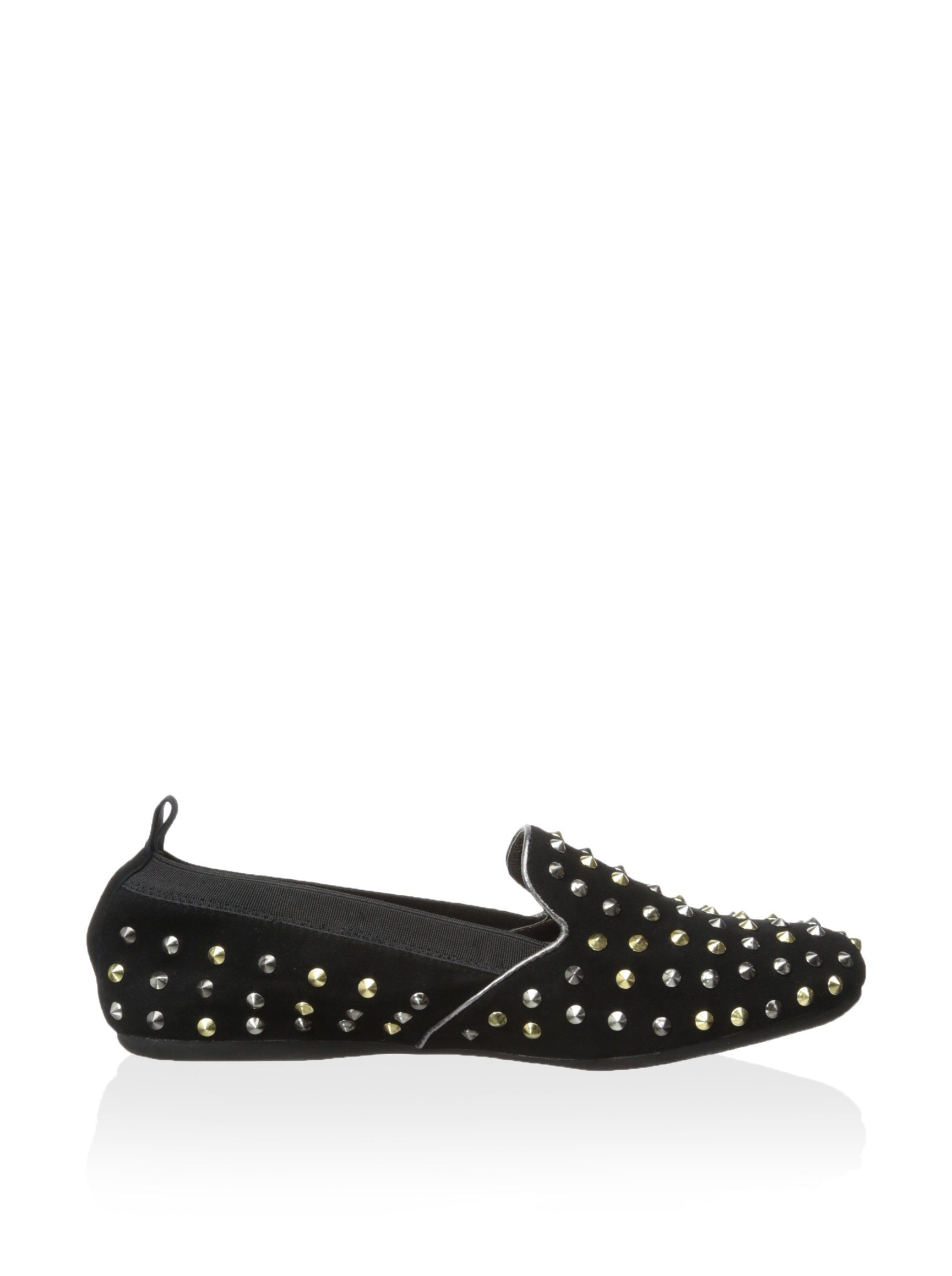Yosi Samra Women's Studded Smoking Flat at MYHABIT