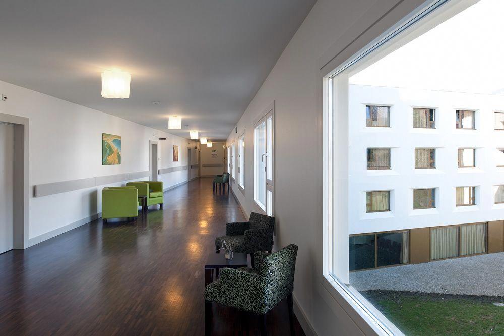 Elderly care house geninasca delefortrie architectes