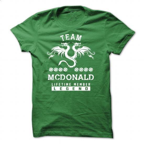 [SPECIAL] MCDONALD Life time member - #tee pattern #tshirt organization. SIMILAR ITEMS => https://www.sunfrog.com/Names/[SPECIAL]-MCDONALD-Life-time-member-Green-50471292-Guys.html?68278