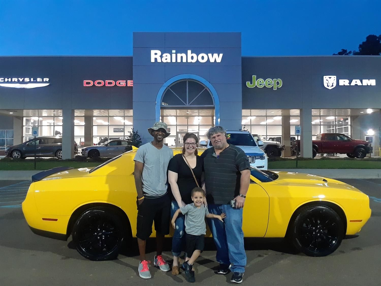Kristin We Hope You Enjoy Your New 2018 Dodge Challenger Congratulations And Best Wishes From Rainbow Chr Chrysler Dodge Jeep 2018 Dodge Challenger Chrysler