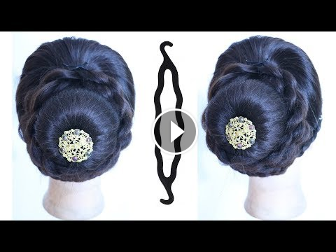 New Juda Hairstyle With Using Magic Hairlock Wedding Hairstyles
