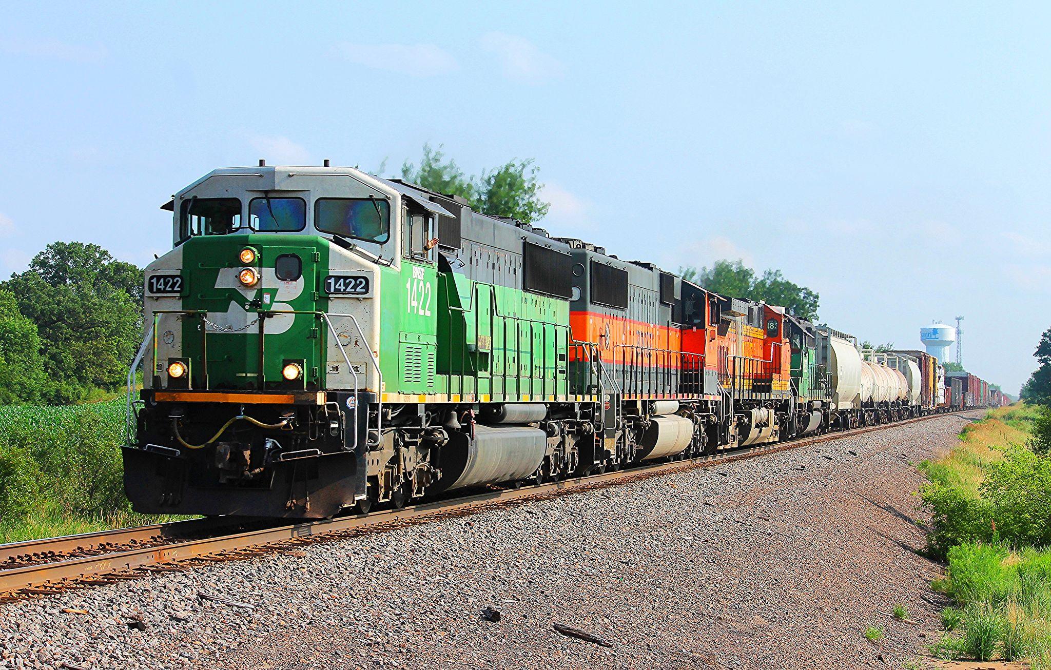 bnsf 1422 locomotive and bnsf railway