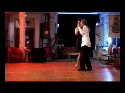 Andrea Bordos and Hector Villar. Tango Valse Milonga.