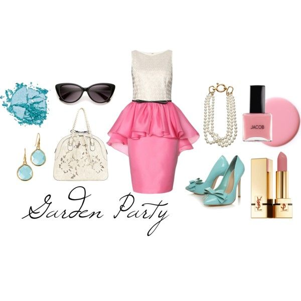 Garden Party, created by pinkbowsxsandos on Polyvore