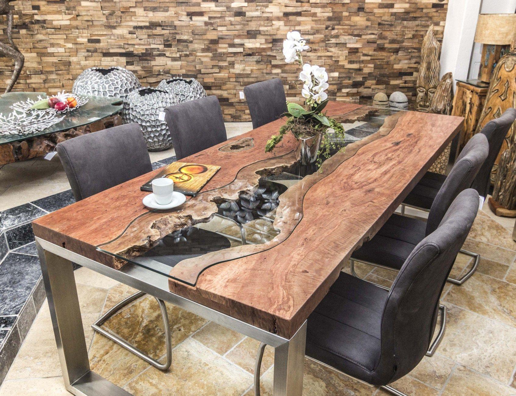 designtisch baumstamm massivholz | wohnzimmer | pinterest