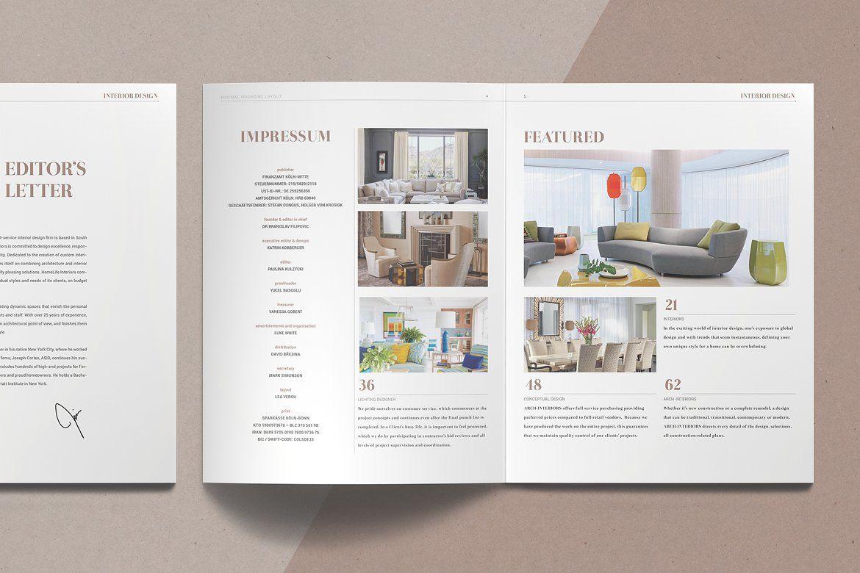 Interior Design Magazine Interior Design Magazine Layout Interior Design Magazine Design
