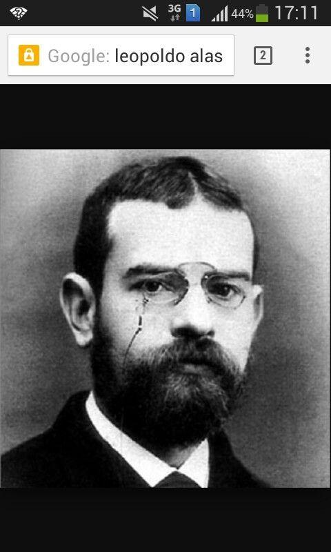 Leopoldo Alas Clarín un autor del siglo XIX esta página podemos apreciar una gran biografia de este autor del siglo XIX