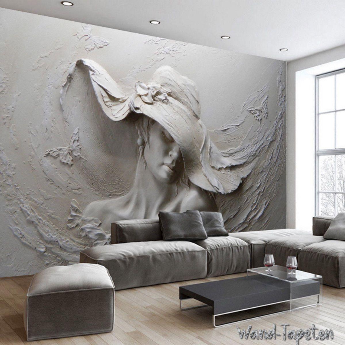 VLIES Fototapeten Wandtapeten Wandbilder 3D-Relief