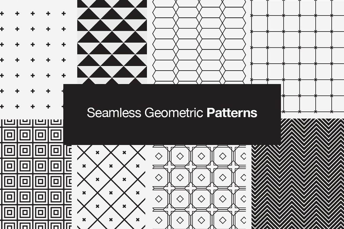 SeamlessGeometricVectorPatterns