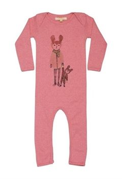Soft Gallery jumpsuit m print, Ben Good Night, rosa